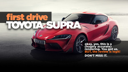2019 Toyota Supra review: First drive!