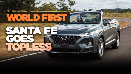 2019 Hyundai Santa Fe Cabriolet: World-exclusive first drive