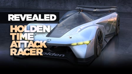 Holden Time Attack Concept Racer laps Mount Panorama!