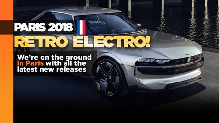 Peugeot E-Legend: Retro electro concept lands in Paris