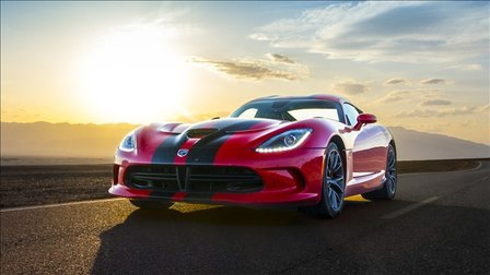SRT Viper Review: Road Trip Through Death Valley