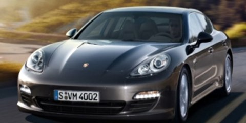 Porsche Panamera Spy Video