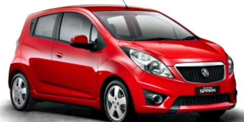 2010 Holden Barina Spark CDX Review Review