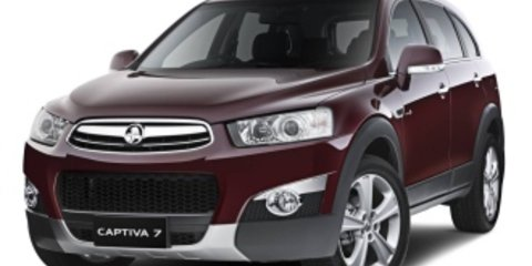 2013 Holden Captiva 7 Lx (4x4) Review
