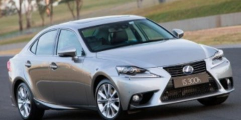 2013 Lexus IS300h F Sport Hybrid Review Review