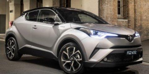 2018 Hyundai Kona Highlander AWD v Toyota C-HR Koba AWD comparison