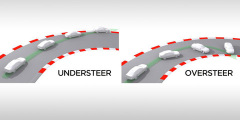 What is understeer and oversteer?