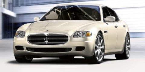 Maserati Quattrporte Goes Automatic