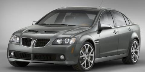 VE Commodore SS becomes the Pontiac G8 GT