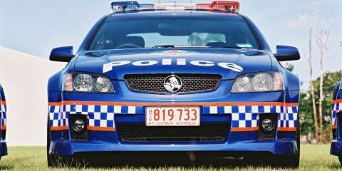 NT's Holden SS Commodore Police Cars