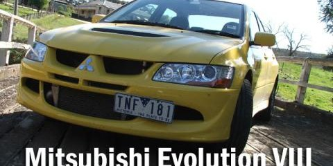 2005 Mitsubishi Lancer Evolution VIII Road Test