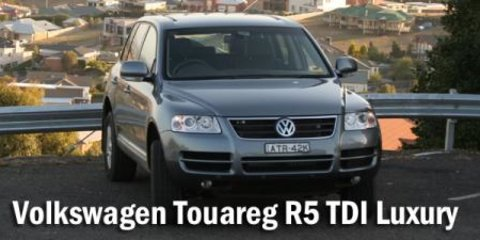 2006 Volkswagen Touareg R5 TDI Luxury Road Test