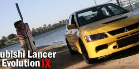 2006 Mitsubishi Lancer Evolution IX Road Test