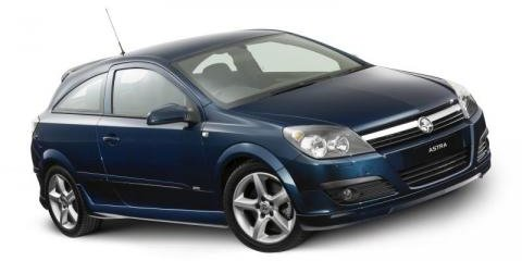2007 Holden Astra SRi coupe and hatch