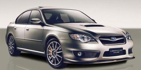 2007 Subaru Liberty GT spec.B Tuned by STi MY07