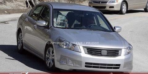 2008 Honda Accord Sedan Spyshots