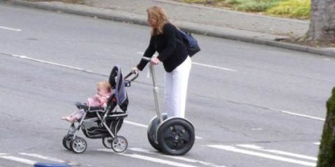 The Segway Baby - American Logic
