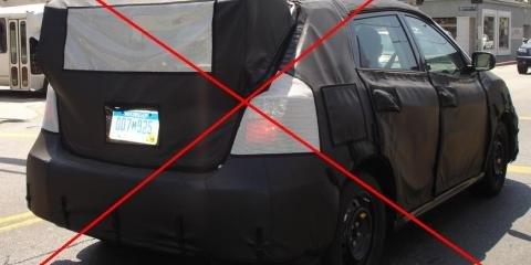 2008 Subaru Impreza WRX STi Spied? No...