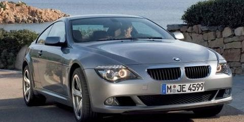 BMW 6 series face lift
