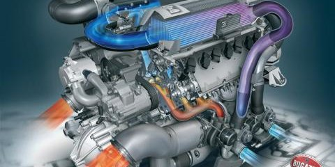 How To Make a Bugatti Veyron W16 Engine