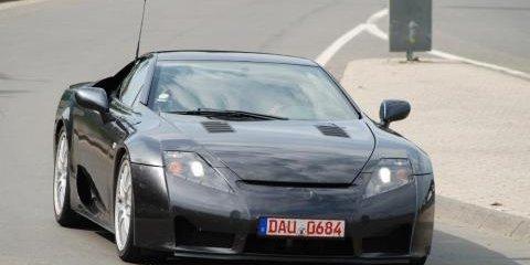More Lexus LF-A Spyshots