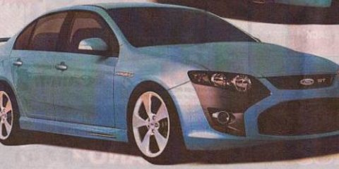 New 2008 Ford Falcon Orion Computer Generated Pictures