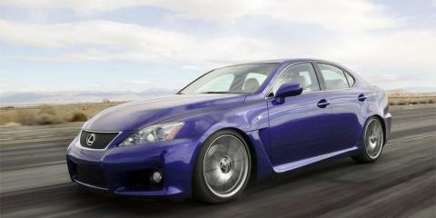 Lexus IS-F to Star at Oz Motor Show
