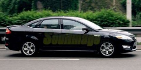Long Wheel Base Mondeo Spied