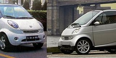 Chinese at it again - Smart ForTwo Clone