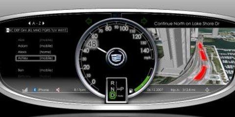 GM Future Interior Components