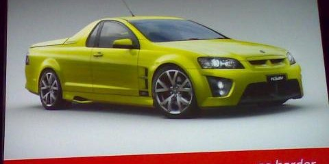 New HSV Maloo & Commodore Wagon