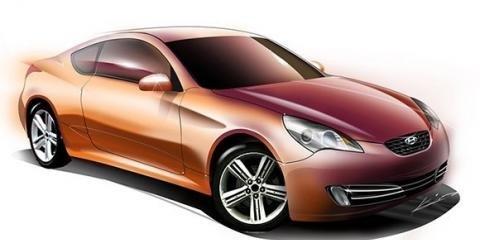 Hyundai Tiburon RWD Concept