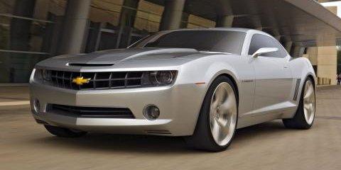 Chevrolet Camaro Test Mule Spied
