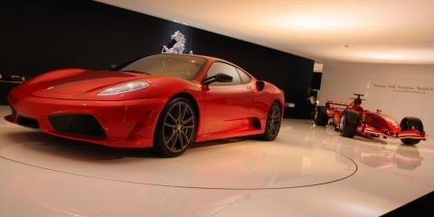 Lamborghini & Ferrari at Motor Show
