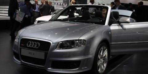 Audi RS4 Frankfurt Motor Show