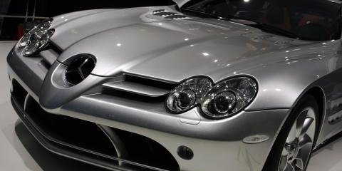 Mercedes-Benz SLR Frankfurt Motor Show