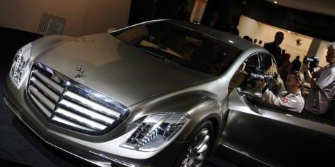Mercedes-Benz F700 Frankfurt Motor Show