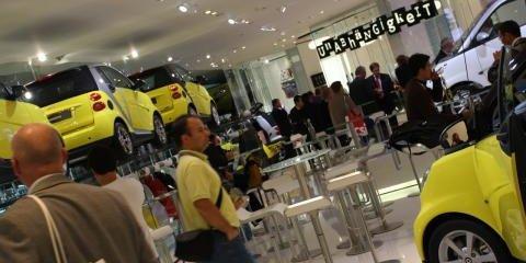 Smart Stand Frankfurt Motor Show