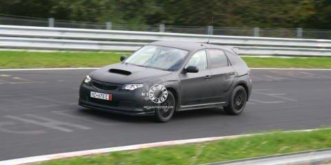 Spied! 2008 Subaru Impreza WRX STi