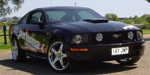 Ford Mustang GT Ready For Oz