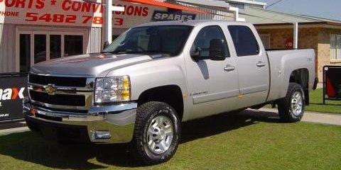 2008 Chevrolet Silverado Comes to Australia
