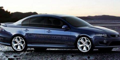2008 Ford Falcon XR8 'Orion' CGI