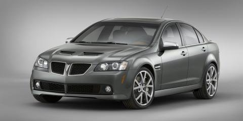 No Manual for Pontiac G8