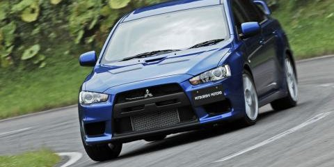 2008 Mitsubishi Lancer Evolution X Official Details