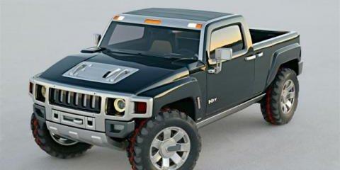 Hummer H3T Ute (pickup)
