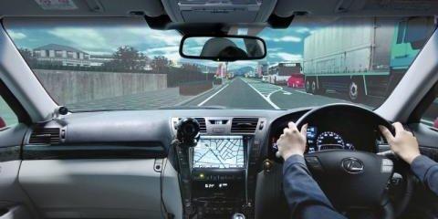 Toyota builds gigantic driving simulator