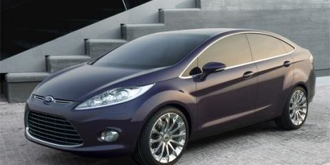 2008 Ford Fiesta Sedan revealed