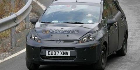 2008 Ford Fiesta spy photos