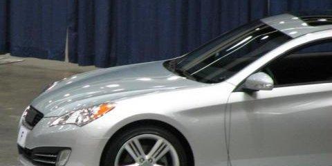 Next-Generation Hyundai Tiburon Uncovered