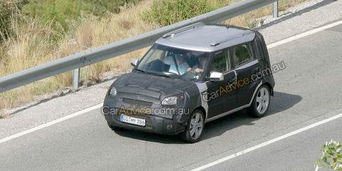 Kia Soul spy photos